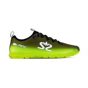 Schuhe Salming Race 7 Men Black / Sicherheit Yellow, Salming