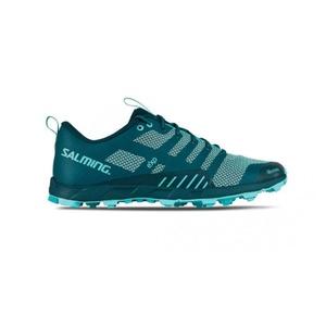 Schuhe Salming OT Comp Women Deep Blaugrün / Aruba Blue, Salming