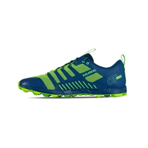 Schuhe Salming OT Comp Men Poseidon Blau / Sicherheit Yellow, Salming