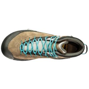 Schuhe La Sportiva TX4 Mid GTX Women taupe / smaragd, La Sportiva
