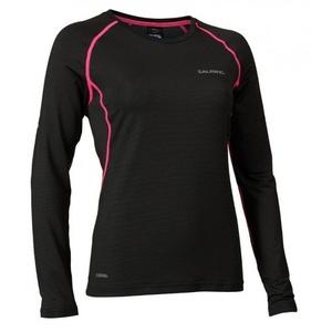 Damen T-Shirt Salming Balance LS Tee Women Black, Salming