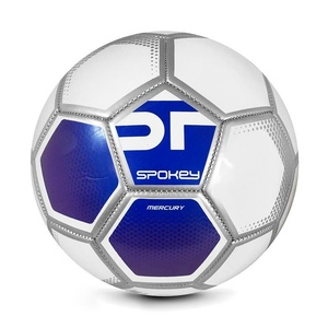 Spokey MERCURY Fußball Ball Grösse. 5 weiß und blau, Spokey