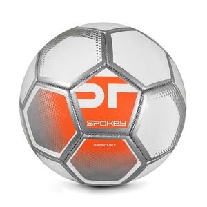 Spokey MERCURY Fußball Ball Grösse. 5 weiß-orange, Spokey