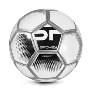 Spokey MERCURY Fußball Ball Grösse. 5 weiß-schwarz