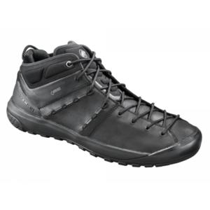 Schuhe Mammut Hueco fortgeschritten Mid GTX® Men schwarz-schwarz 0052, Mammut
