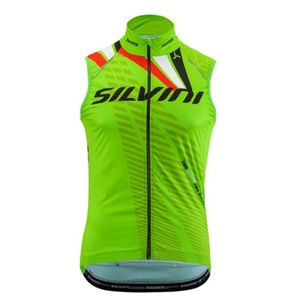 Herren Weste Silvini TEAM MJ1404 green, Silvini