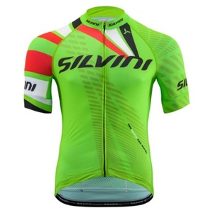 Herren Radsport Dress Silvini TEAM MD1400 green, Silvini