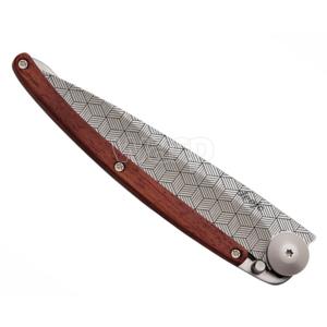 Taschen- Messer Deejo 1CB042 Tattoo illusion 37g, korallenholz, Deejo