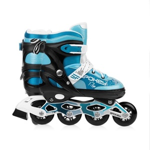 Spokey RISE In-line Skates geregelt, ABEC 7 Carbon türkis, Grösse. 39-43, Spokey