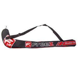 Floorball Tasche FREEZ STICKBAG FALCON 82 schwarz/rot, Freez