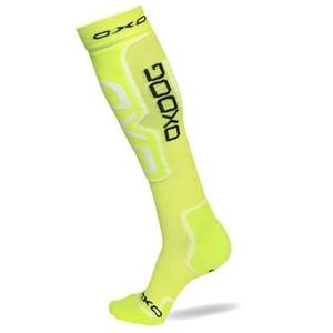 Kompression Socken OXDOG COMPRESS SOCKS Neon yellow, Oxdog