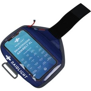 Hülle  Handy Raidlight Smartphone Armbelt L Dark Blue, Raidlight