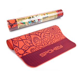 Spokey MANDALA Unterlage  Training lachs 4 mm, Spokey