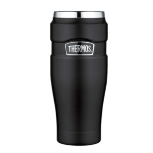 Wasserdichte Thermotasse Thermos Style düster black 160023, Thermos