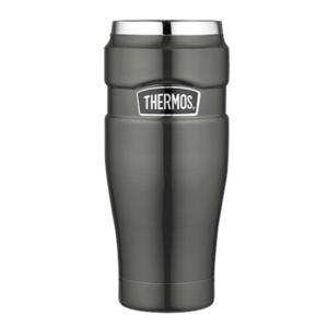 Wasserdichte Thermotasse Thermos Style metallisch grey 160025, Thermos