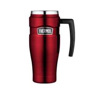 Wasserdichte Thermotasse mit handler Thermos Style red 160031, Thermos