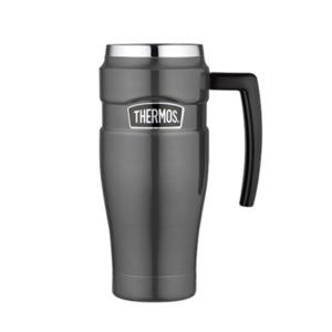 Wasserdichte Thermotasse mit handler Thermos Style metallisch grey 160035, Thermos