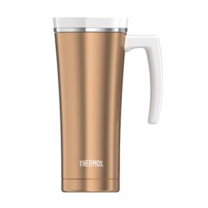 Wasserdichte Thermotasse mit handler Thermos Style roségold 160052, Thermos