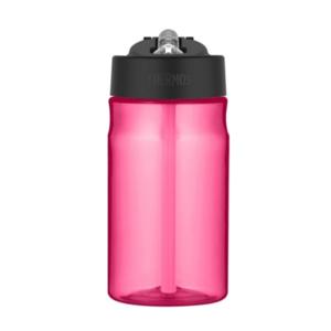 Feuchtigkeits- Flasche mit mit einem strohhalm Thermos Sport pink 320140, Thermos