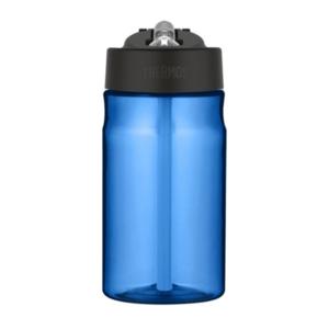 Feuchtigkeits- Flasche mit mit einem strohhalm Thermos Sport blue 320141, Thermos