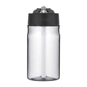 Feuchtigkeits- Flasche mit mit einem strohhalm Thermos Sport clear 320143, Thermos