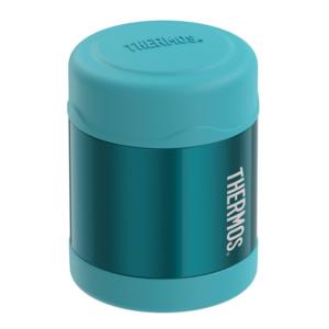 Kinder Thermosflasche  Lebensmittel Thermos FUNtainer türkis 123015, Thermos