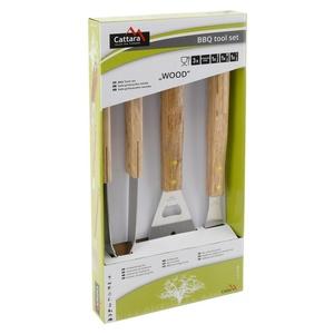Grill- Werkzeug Cattara WOOD Set 3ks, Cattara