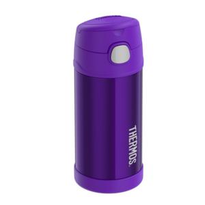 Kinder Thermosflasche mit mit einem strohhalm Thermos Funtainer violet, Thermos