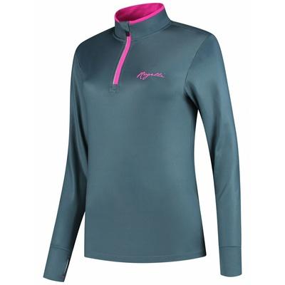Damen Lauf Sweatshirt Rogelli MARBLE mit geht es isolierung, grau-rosa 840.652, Rogelli