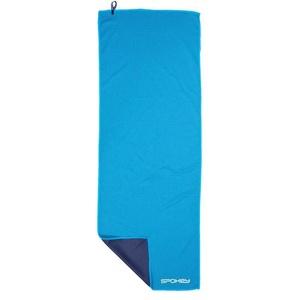 Kühl schnell Handtuch Spokey COOLER 31x84 cm, grünblau in craftstoff Tasche, Spokey
