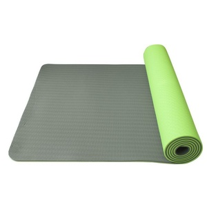Unterlage  Yoga Yoga Mat double-layer-, material TPE grün/grau, Yate