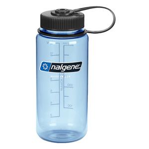Flasche Nalgene Wide Mouth 0,5l Tuxedo_Blue/682010-0421, Nalgene