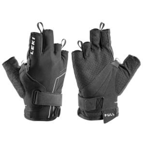 Handschuhe LEKI Nordic Breeze Shark Short 649703301 black/white, Leki