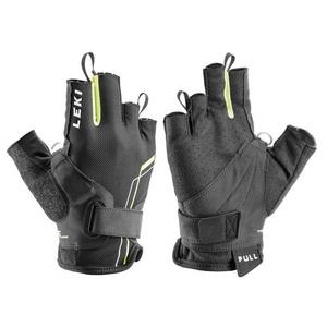 Handschuhe LEKI Nordic Breeze Shark Short 649703303 black / gelb / weiß, Leki