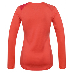 Merino Thermowäsche T-Shirt lang Ladies Sheep peach, Husky