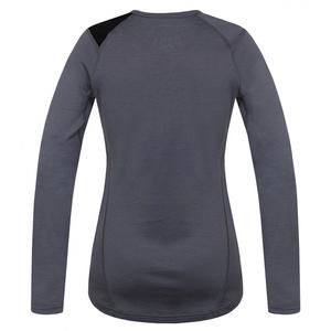 Damen Merino T-Shirt Husky Sheep grey, Husky