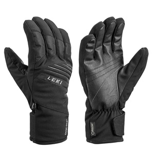 Handschuhe LEKI Space GTX (643861304) schwarz / lime, Leki