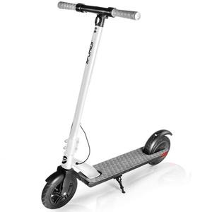 Elektro- Scooter Spokey VENOM schwarz-weiß, Spokey