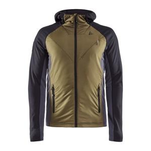 Sweatshirt CRAFT Polar Padded 1908013-999669 green mit schwarz, Craft
