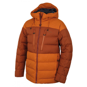 Herren feder Jacke Husky Dester M braun-orange / braun, Husky