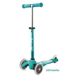 Scooter Mini Micro Deluxe Aqua LED, Micro