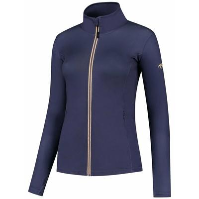 Damen Sport- Sweatshirt Rogelli INDIGO, lila-orange 840.847, Rogelli
