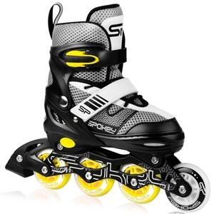 In-line Skates Spokey ARYA schwarz und gelb ABEC7 Carbon, Spokey