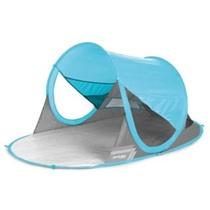 Spokey STRATUS Self entfaltbarer Strand- Paravent UV 40 190x120x90cm light blau, Spokey