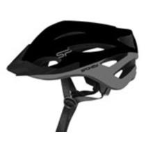 Radsport Helm für Erwachsene Spokey SPECTRO 58-61 cm, black, Spokey