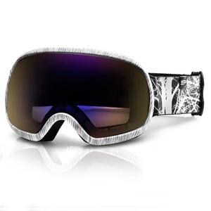 Spokey PARK Ski Brille grauweiß, Spokey