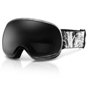 Spokey PARK Ski Brille schwarz und weiß, Spokey