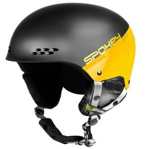 Ski Helm Spokey APEX schwarz-gelb Grösse. L/XL
