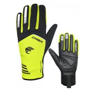 Radsport Handschuhe Chiba 2nd SKIN schwarz / gelb 31239.03-1, Chiba