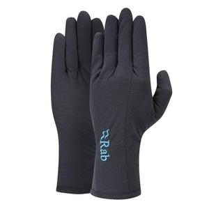 Handschuhe Rab Merino+ 160 Handschuh Women's ebony, Rab